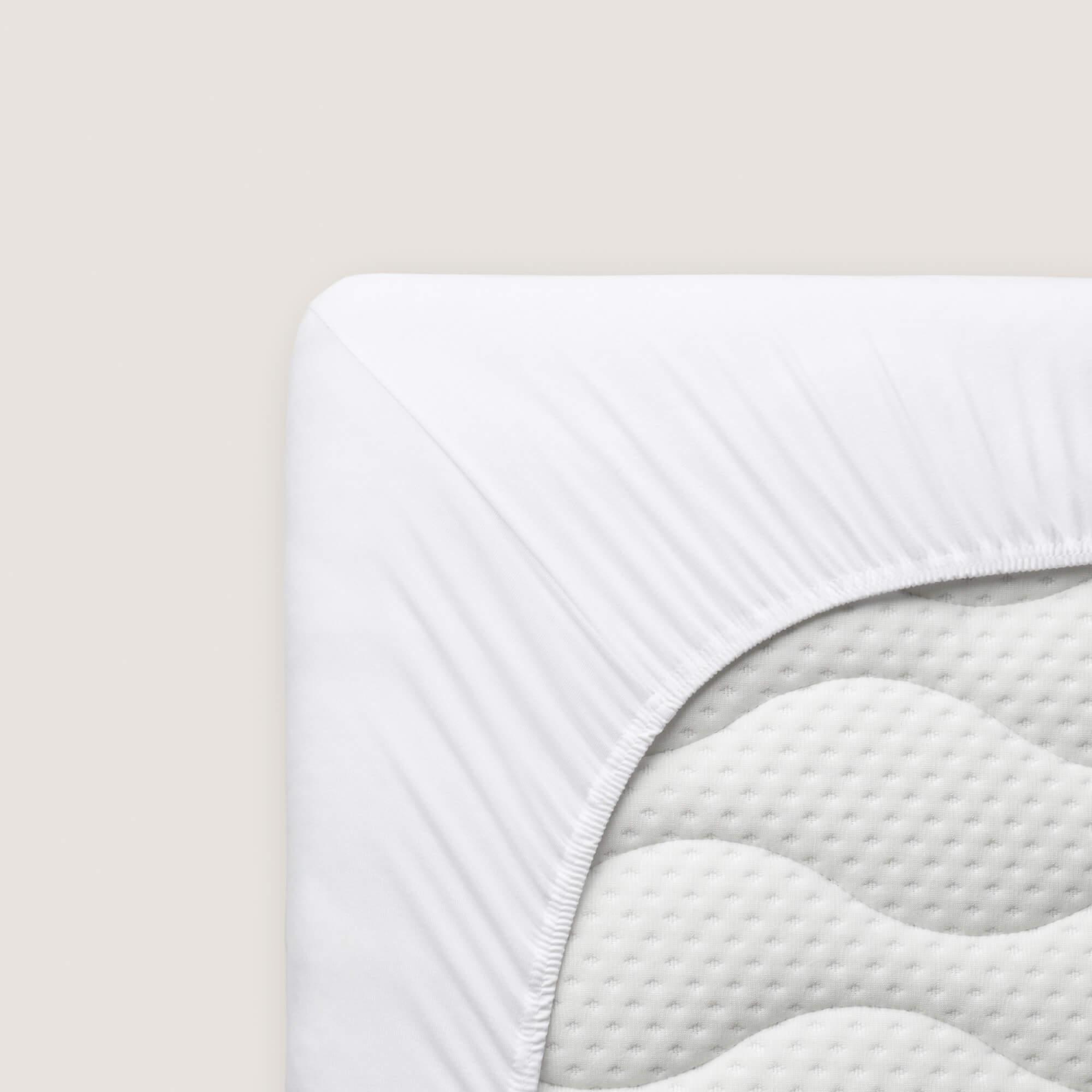 weißes schlafgut Spannbettlaken Organic Cotton aus Bio-Baumwolle