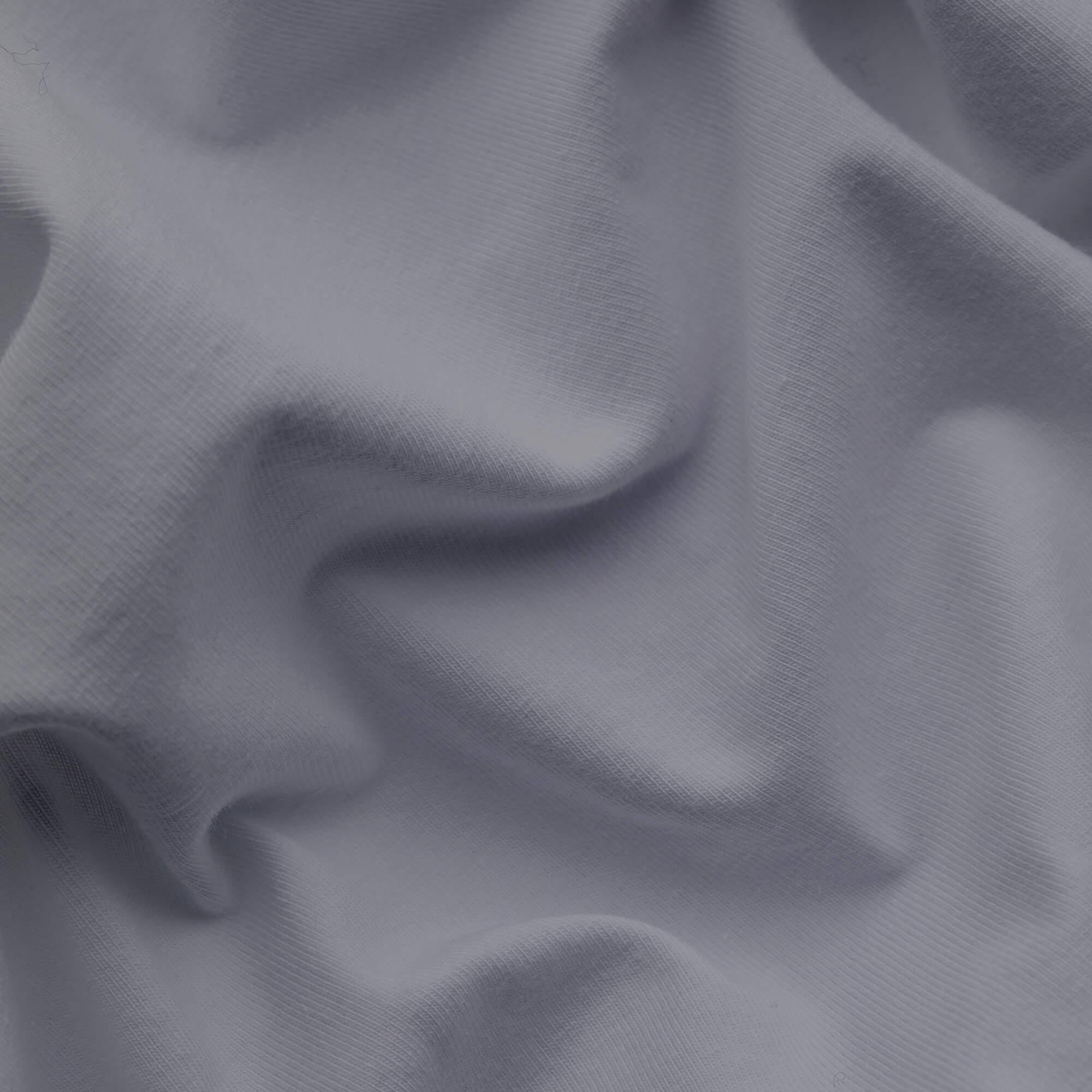 graues schlafgut Spannbettlaken Mako Jersey aus Baumwolle