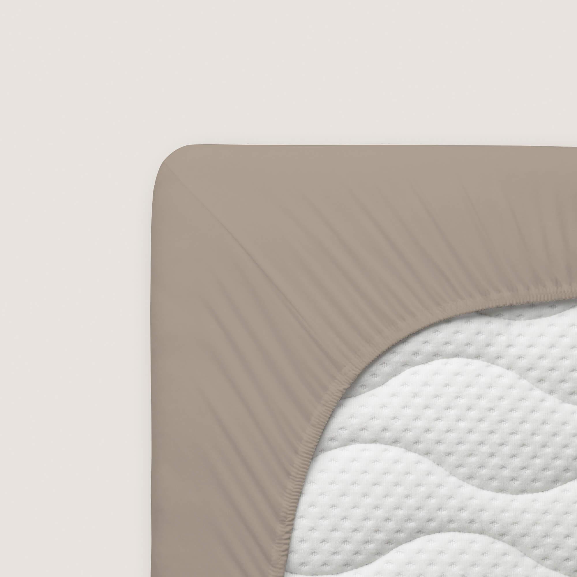 taupes schlafgut Spannbettlaken Organic Cotton aus Bio-Baumwolle