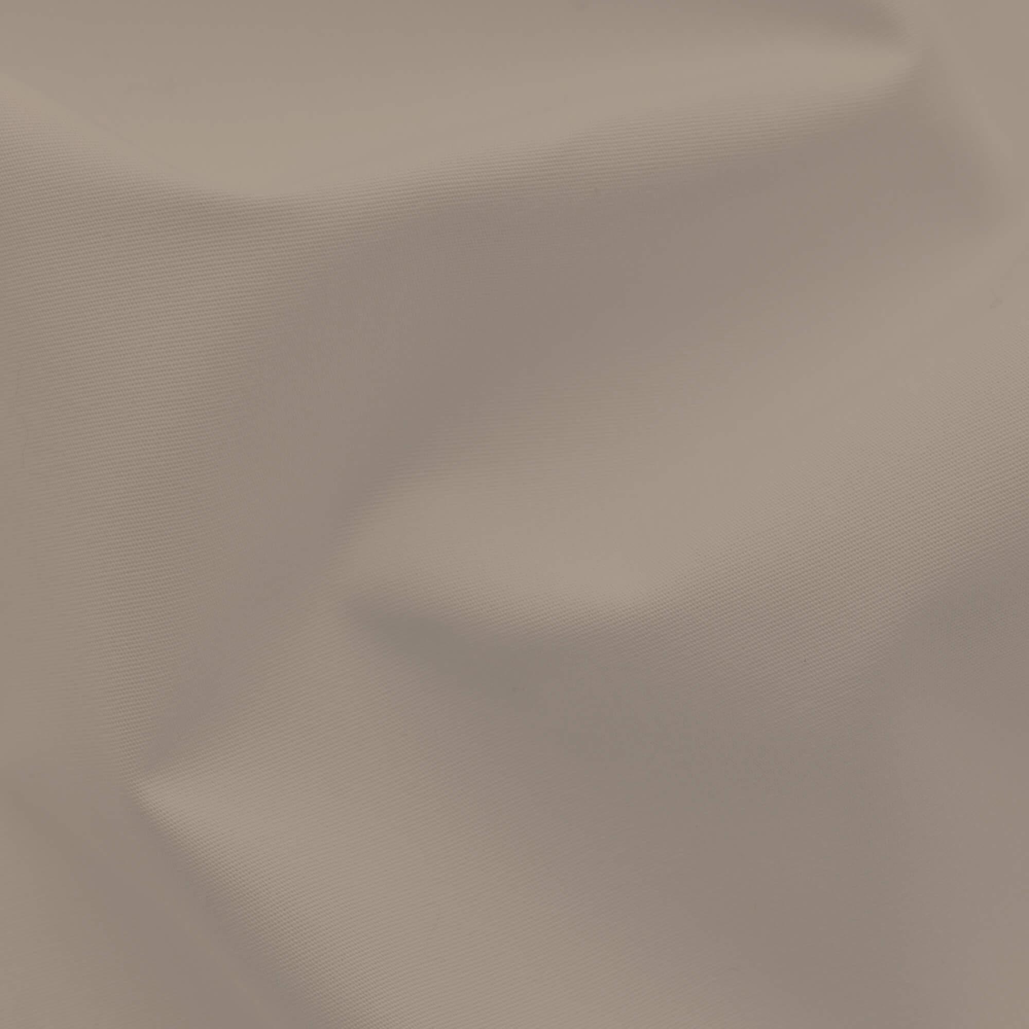 taupes Spannbettlaken Perkal aus Baumwolle